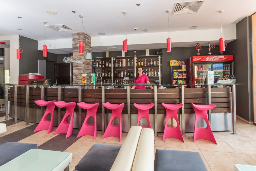 Meridian hotel Lobby bar