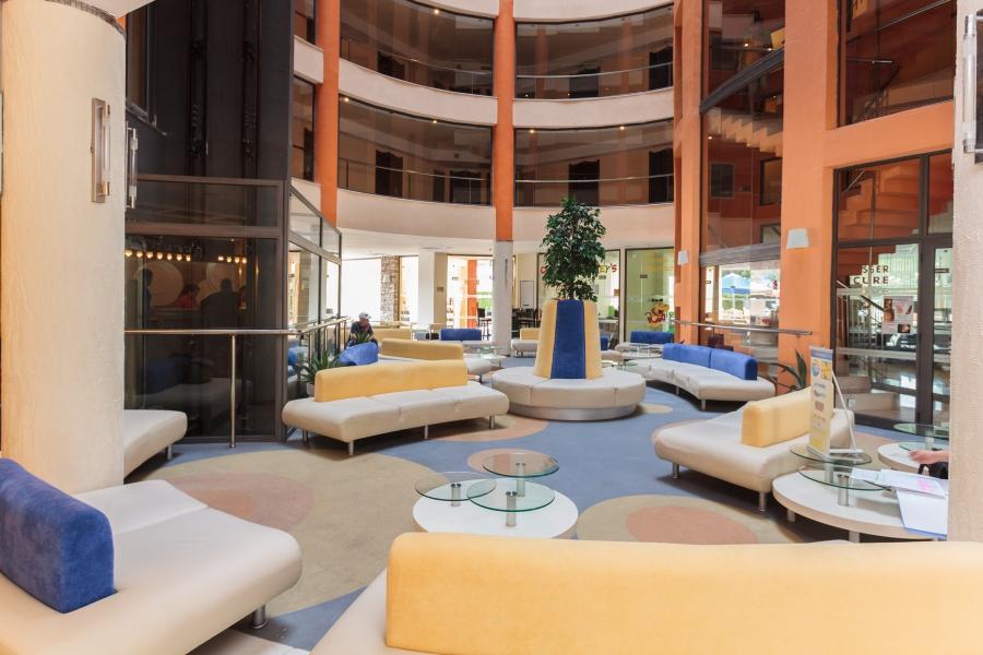 Meridian hotel Lobby