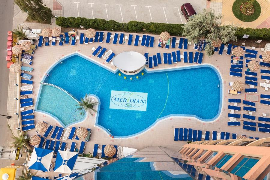 Meridian hotel pool