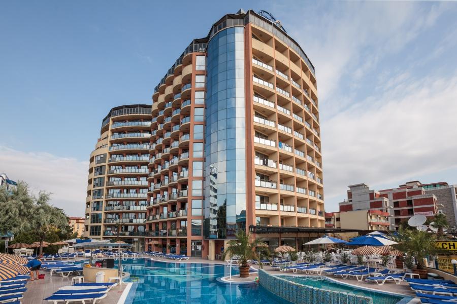 Meridian hotel view